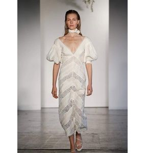 Zimmermann linen midi dress